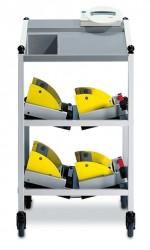 seca - Ekipman arabası ile elektronik yatak ve diyaliz terazisi , Class III ,500 kg