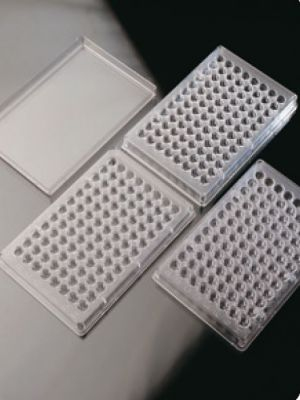 Deltalab - Microtiter Plate,nonsteril,flat bottom 50ad/pk