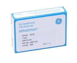 GEHC-Whatman - GF/D Glass Circles, 125mm 25/pk