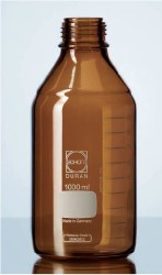 Schott Duran - Laboratuvar Şişesi (Amber) Kapaksız,500 ml