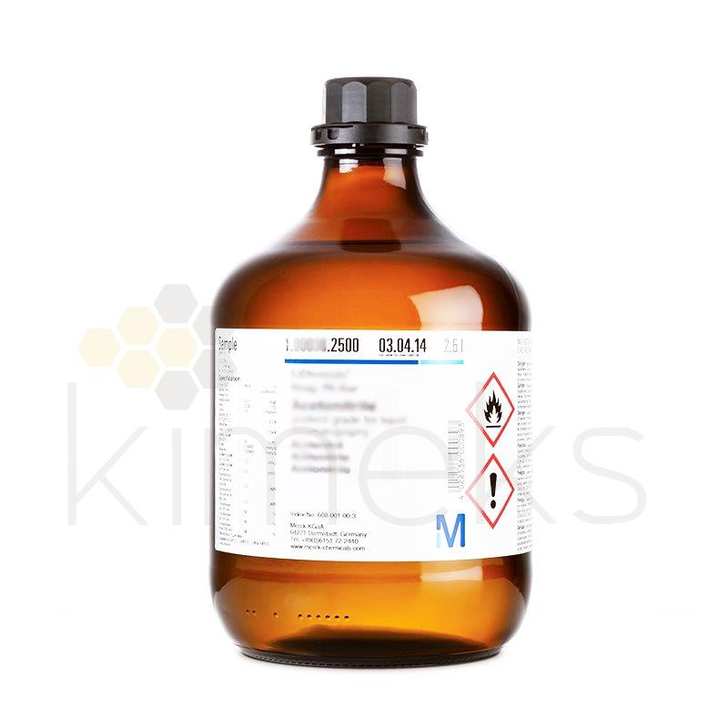 100013 | Aseton eksipiyan olarak kullanıma uygun 2,5 Litre