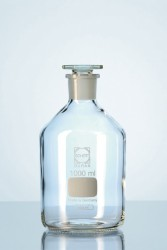 Schott Duran - Miyar şişesi, dar boyunlu, cam kapaklı, 10 ml