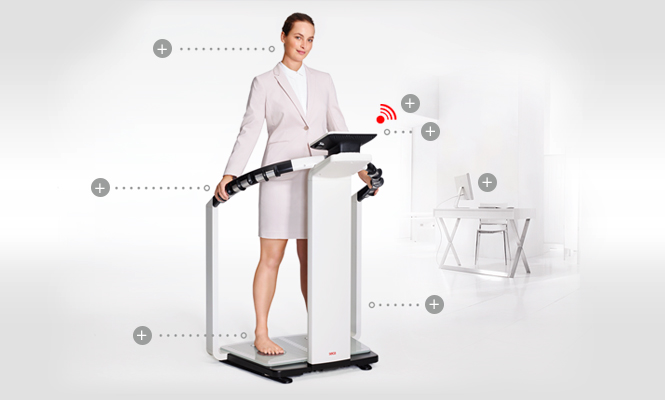 SECA MBCA-Tıbbi Vücut Kompozisyon Analizörü C300 kg
