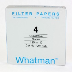 Cytiva- Whatman - Grade 4 kalitatif Filtre Kağıdı, Çapı 125 mm 100 Adet
