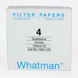 GEHC-Whatman - Grade 4 kalitatif Filtre Kağıdı, Çapı 125 mm 100 Adet